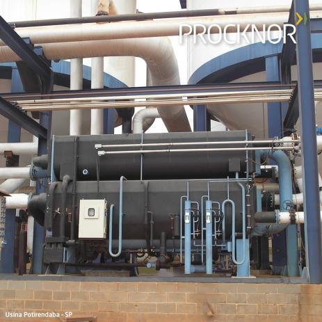 Sistema Geladinho para Resfriamento de Fermentação